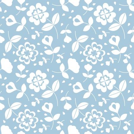 Seamless flower pattern Stock Vector - 17804396