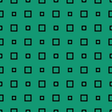 Green pattern with rectangles