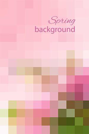 Spring background_3 向量圖像