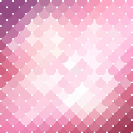 Pink mosaic background_2