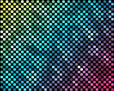 hauberk: Abstract mosaic neon background_3