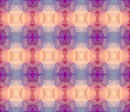 voilet: Pastel geometric pattern