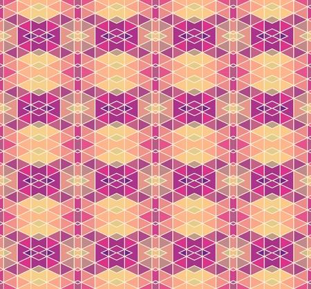 voilet: Mosaic geometric pattern