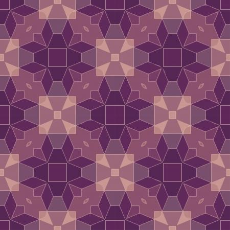 voilet: Seamless geometric pattern Illustration