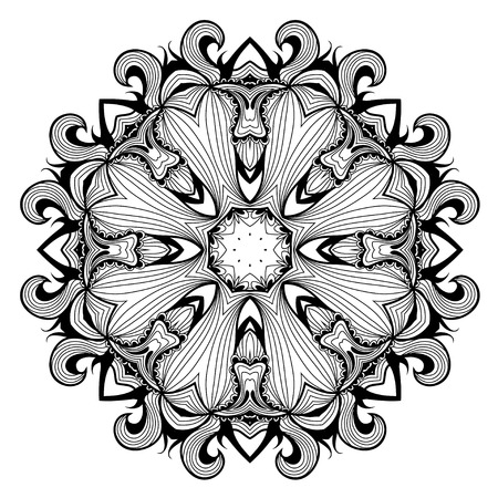Lacy arabesque designs. Oriental ornament. You can use this pattern in the design of textile, carpet, shawl, cushion, greeting card.