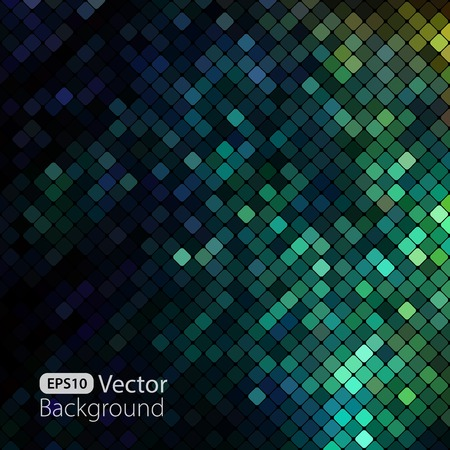 blue and green: Bright colorful mosaic background