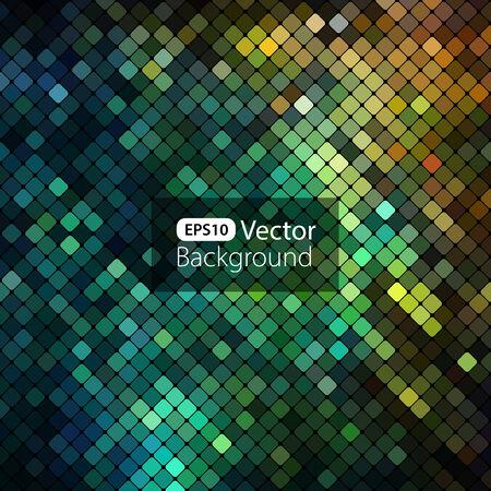 Heldere kleurrijke mozaïek achtergrond Stockfoto - 35263914