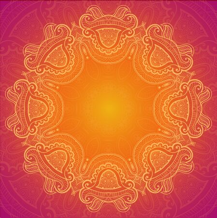 red indian: Lace background for greeting card.