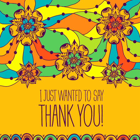 stranded: Greeting card I just wanted to say thank you