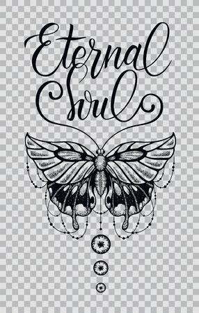 T-shirt design beautiful butterfly