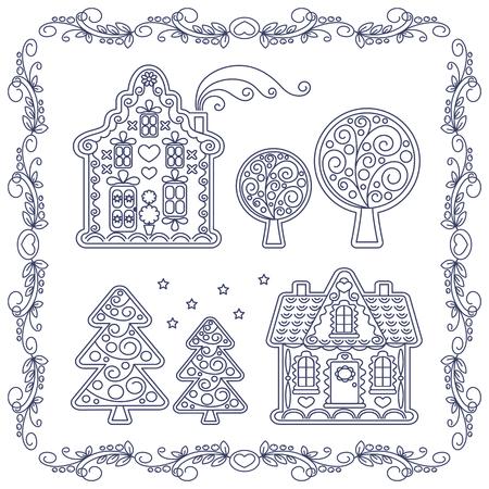 Corona De Muñeco De Nieve De Tarjetas De Navidad Windows árbol Pan ...