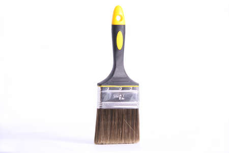 black paint brush for art