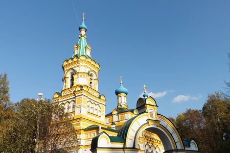 Perm. Russia.Temple of the Dormition of the Mother of God