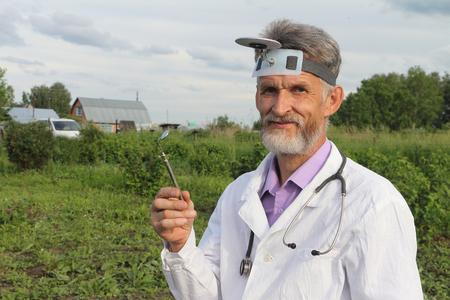 smock: Doctor in rural areas before work