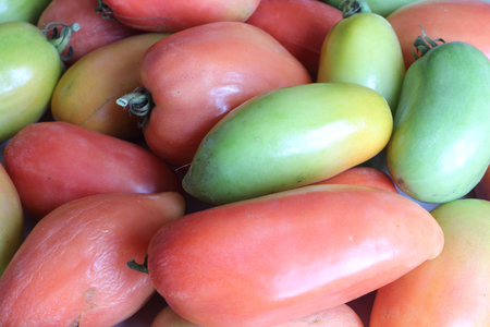 aggregated: Background from the ripening tomatoes