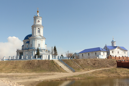 Church of the Kazan icon of the Mother of God , founded at the end of the 18th century, Thelma ,Irkutsk region, Russia