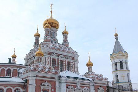 St. Nicholas Church, Kungur city, Russia, Founded in 1792 in the John the Baptist Womens Monastery