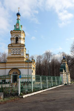 Church of the Assumption of the Blessed Virgin Mary at the Egoshikhinsky Cemetery, founded in 1784, Perm, Russia
