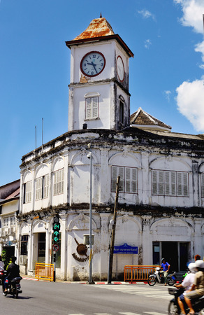 chino portugese clock phuket thailand