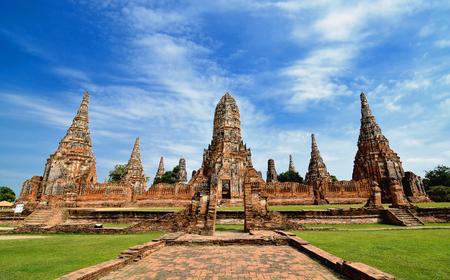Chaiwattanaram temple in Ayutthaya Historical Park,