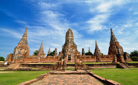 Chaiwattanaram temple in Ayutthaya Historical Park,