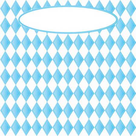 Blue diamonds pattern. Illustration