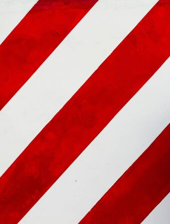 Background - red-white wall