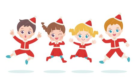 Kids Christmas Illustration 2