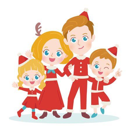 Happy family.It's vector art so it's easy to edit.