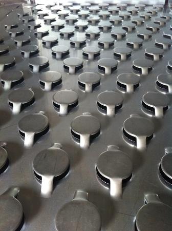 fixed: Fixed valve tray Stock Photo