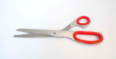 Sewing scissors isolated on white  photo