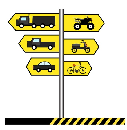 Traffic Signs Stock Vector - 17693398