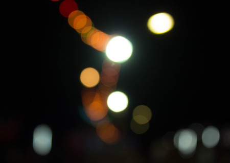 Bokeh light and Christmas background. photo