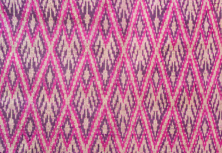 AbstackTraditional ,Thai silk art pattern Stock Photo