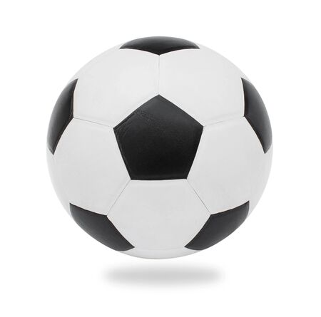 football ball, isolated on white.