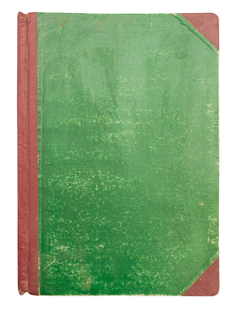 scientific literature: Green book on white background