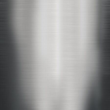 titanium plate: brushed metal texture ; abstract industrial background