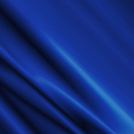 satin: Blue Satin Fabric for Drapery Abstract Background .