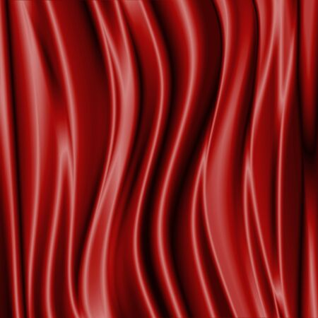 blue waves: Abstract background in the form of luxury cloth or wavy. Stock Photo