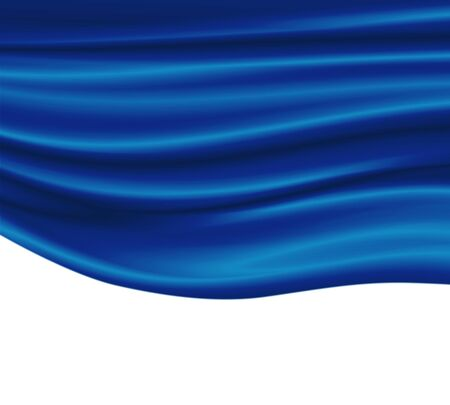 Abstract background in the form of luxury cloth or wavy. Stock Photo