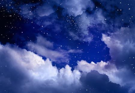 disparos en serie: Estrellas en el cielo nocturno