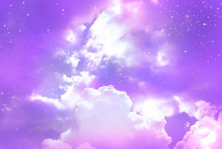 Stars in the night sky Standard-Bild