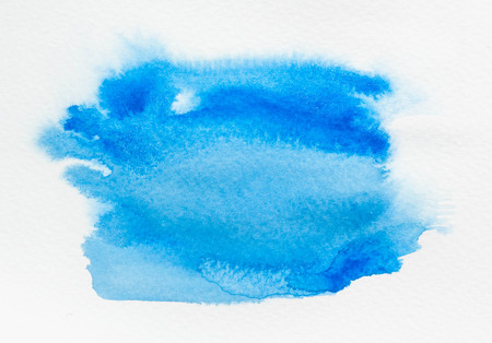 Watercolor Ombre Background. Watercolor Wash.Watercolor blue background.