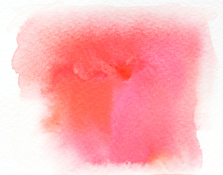 ombre: Pink wet Watercolor Wash. Watercolor Background. Ombre Watercolor. Stock Photo