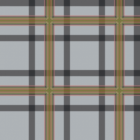 Seamless checkered vector pattern with grayish tints Vettoriali