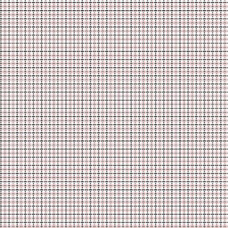 quadratic: Malla patr�n de vectores sin fisuras con l�neas de trazos simples y dobles. Repita fondo con matriz geom�trica en negro y rojo