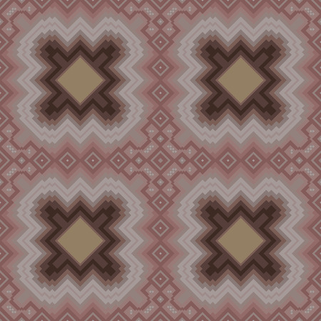 jointless: Seamless vector pattern in cocoa and brown hues