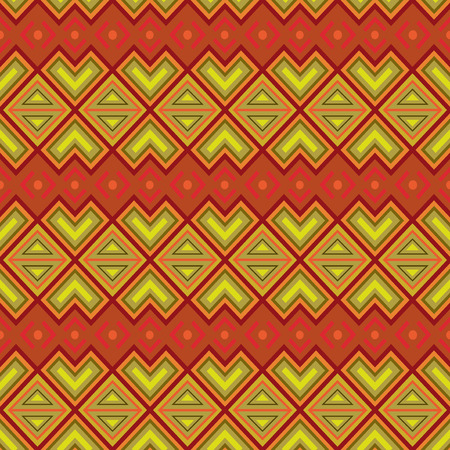 Seamless ethnic motifs patterns in a single file, hand drawing vector illustration Illustration