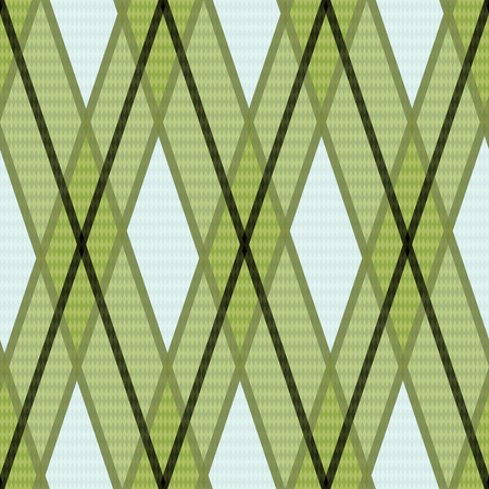 scot: Seamless rhombic colorful pattern mainly in green, pink and other light warm colors Illustration