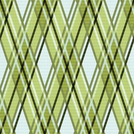 rhombic: Seamless rhombic colorful pattern mainly in green, and other light warm hues Illustration